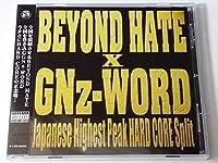 GNz-WORD×BEYOND HATE SPLIT CD