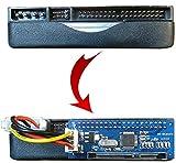 Kalea Informatique - Adaptador/convertidor de IDE a SATA 1, 2 o 3 (IDE 3,5' de 40 pines a SATA 3,5' de 15+7 pines) para unidad de disco duro y lector/grabador de CD/DVD, compatible con todos los sistemas operativos Windows, Mac, Linux