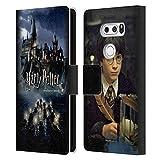 Head Case Designs Officiel Harry Potter Château Sorcerer's Stone II Coque en Cuir à Portefeuille...
