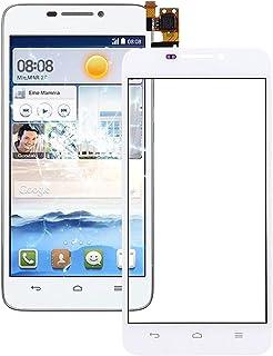 QFH For Huawei Ascend G630 Touch Panel(Black) قطع غيار لوحة اللمس للهاتف المحمول (Color : White)
