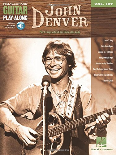Guitar Play-Along Volume 187:John Denver (Book/Online Audio) (Hal Leonard Guitar Play-Along, Band 187)