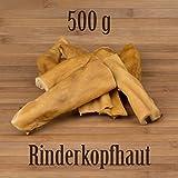 500G Bovini testa Pelle Bovina–Come orecchie di manzo bue ziemer mastica kausnack