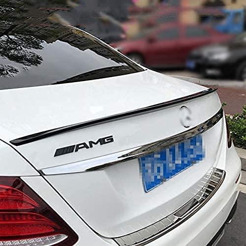 ZZKD ABS alerón Trasero para Mercedes-Benz Clase E W213 E300L 2016-2020, alerón Trasero de Techo portón Trasero alerón Trasero estándar diablos del Labio del Tronco