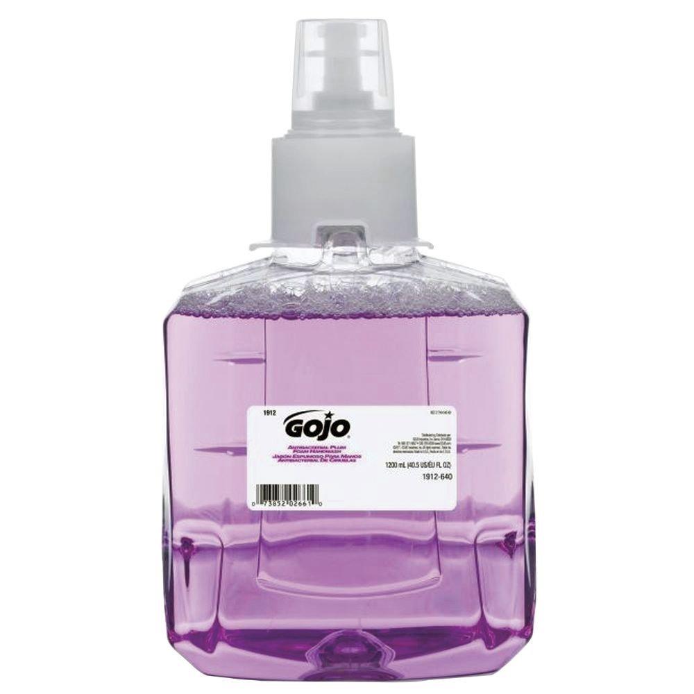 Popular brand GOJO LTX 1200 ml Max 45% OFF Antibacterial Plum Foam Soap