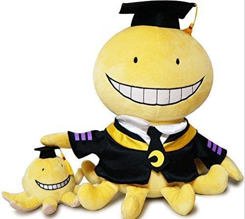 Assassination Classroom Cute Plush Dolls Korosensei + Octopus Stuffe'd Toys Doll 2 Pcs LATT LIV