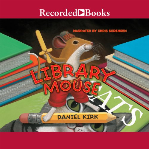 Library Mouse audiobook cover art