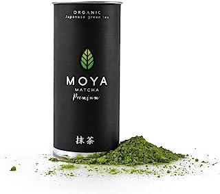 Moya Matcha Té Verde Orgánico Japonés En Polvo | 30g Prima Ceremonial Grado (I) | Cultivado y Cosechado en Uji, Japón | Más alto Calidad Matcha Disponible
