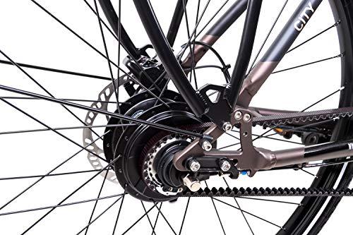 513+v+J4xAL - 28 Zoll TechniBike City Pedelec E Bike Riemen N330 Nu Vinci Continental Gr.L
