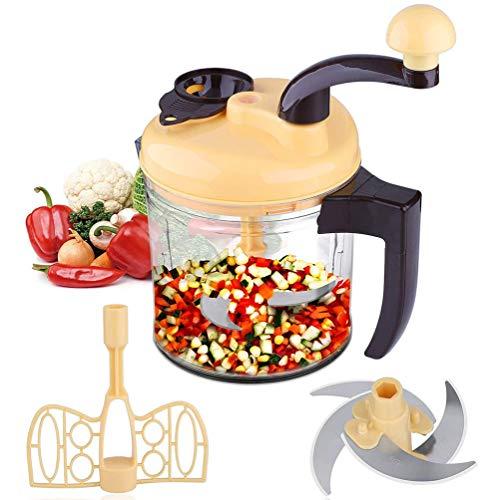 Ttdbd Hand Food Cutter, am schnellsten, am einfachsten zu bedienen, leicht zu...