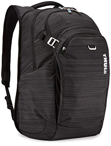 Thule Unisex's Construct Laptop Backpack, Black, 28L US