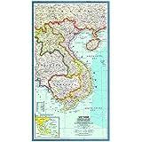 wzgsffs Vietnam Kambodscha Laos Und Ostthailand Karte 1965