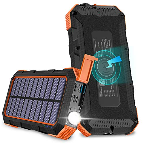Solar Charger Tranmix 18W Power Bank review