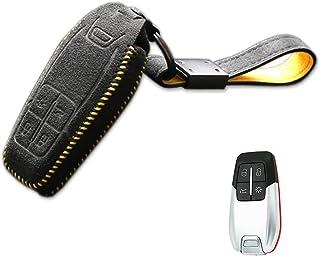 $66 » Sponsored Ad - Alcantara Leather Smart Car Key Case Holder Shell for Ferrari 458 588 488GTB LaFerrari With Keychain Remote...