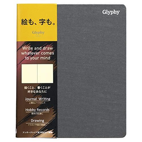 ノート グリフィー B6変型 アンチークレイド紙