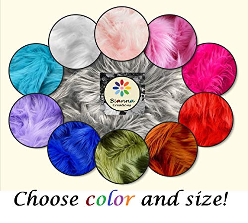 Fun Color Faux Fur in Smaller Portions