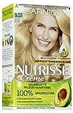 Garnier Nutrisse Creme Coloration Helles Natur-Blond 9.03 / Färbung für Haare für permanente...