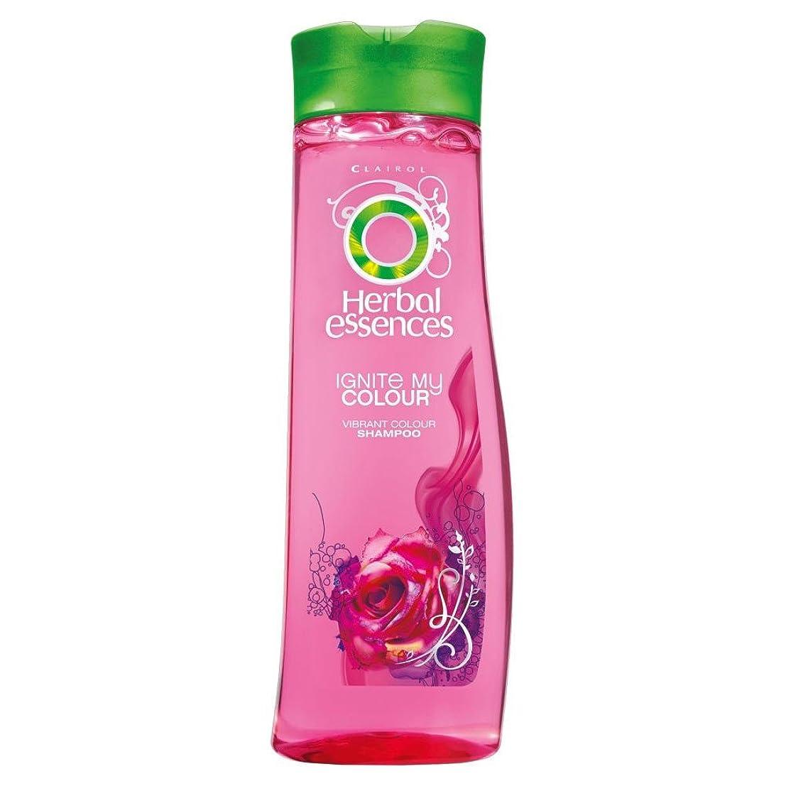 コーデリア寄り添う突然Herbal Essences Ignite My Colour Acai Berry & Silk Extracts Shampoo (400ml) ハーバルエッセンスは、私のカラーアサイベリーとシルクエキスシャンプー( 400ミリリットル)を点火する [並行輸入品]