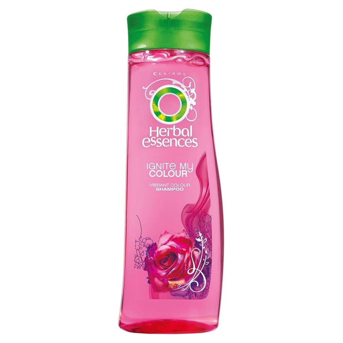自己教える一般Herbal Essences Ignite My Colour Acai Berry & Silk Extracts Shampoo (400ml) ハーバルエッセンスは、私のカラーアサイベリーとシルクエキスシャンプー( 400ミリリットル)を点火する [並行輸入品]