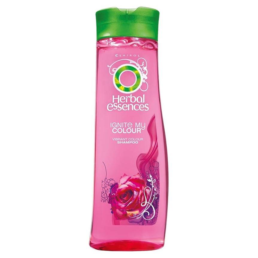 前文敵折Herbal Essences Ignite My Colour Acai Berry & Silk Extracts Shampoo (400ml) ハーバルエッセンスは、私のカラーアサイベリーとシルクエキスシャンプー( 400ミリリットル)を点火する [並行輸入品]