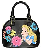Loungefly Disney Alice In Wonderland Curiouser And Curiouser Mini Dome Bag