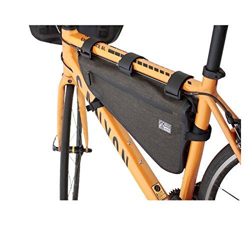 GORIX ゴリックス 高防水 ドライ トライアングルバッグ 防水 自転車 8L サイクルバッグ (B13)