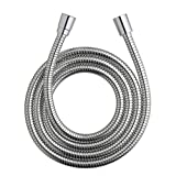 Waterpik HOS-960M Ultra-Flexible Replacement Metal Shower Hose, 96-inch, Chrome