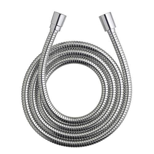 Waterpik HOS-960M Ultra-Flexible Replacement Metal Shower Hose, 96-inch, Chrome