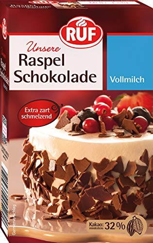 RUF Raspel Schokolade Vollmilch, 11er Pack (11 x 100 g)