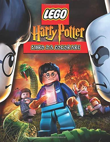 Lego Harry Potter Libro da Colorare: Libro Da Colorare Di Alta Qualità Per Bambini