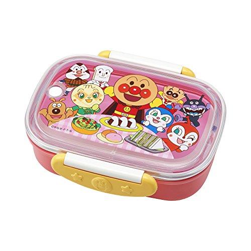 レック アンパンマンロック式おべんとう箱 360ml ピンク