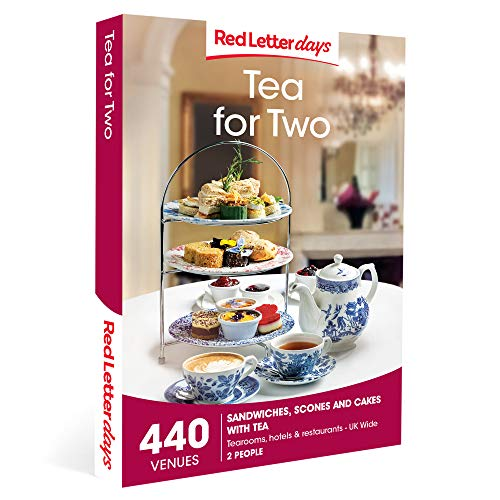 Red Letter Days Tea for Two Gift Voucher – 440 delightful afternoon tea experiences