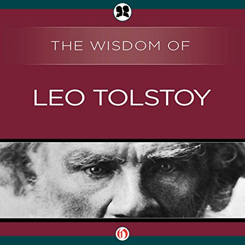 Wisdom of Leo Tolstoy audiobook cover art