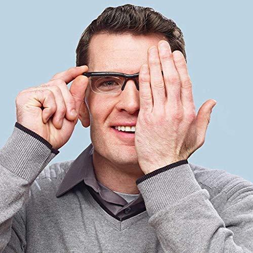 Bril, leesbril, met verstelbare multi-focuslenzen van dichtbij of veraf voor lezen, breien, draadsnijden, handmatig scherpstellen