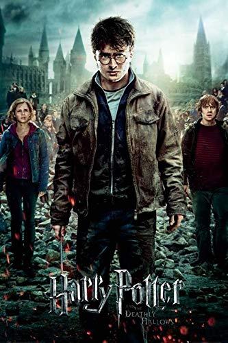 Harry Potter und die Heiligtümer des Todes 7 Poster (61cm x 91,5cm) + Original tesa Powerstrips® (1 Pack/20 STK.)