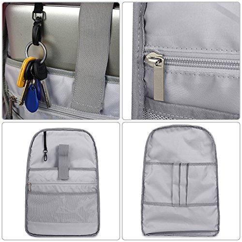 VentoMarea Lightweight Canvas Teen Girls Backpacks College High School Bookbag Casual Travel Laptop Daypack