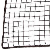 ネット 網 防鳥ネット 防球ネット NET23 ■ブラウン ▼幅100cm ▽丈450cm 37.5mm目 JQ7 防犯用ネット 階段ネット 落下防止ネット 安全ネット 万能ネット サイズオーダー