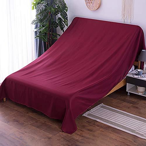 BCGT Muebles de cubierta adicional grande for mover protección y almacenamiento a largo plazo, de la cubierta del sofá por un movimiento, Sofá cama Sofá Muebles protector for cubrir tres Asiento - 275