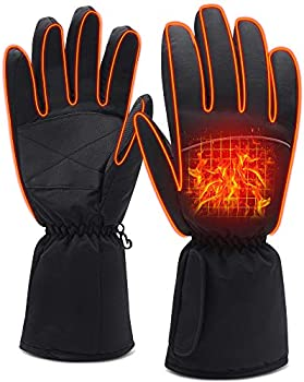 Qilove Cold Weather Battery Heated Gloves