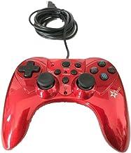 Controle Joystick Com Fio Usb Para Playstation 3 Play 3 Feir Fr2120 Vermelho
