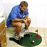 KILLM Putter del Tocador De Golf del Juego del Mini del Golf Golf Determinado del Tocador De Golf Poner La Novedad del Juego Hombres Mujeres Aseo Entretenimiento Deportes Juguete