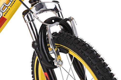 "KS Cycling Kinder Mountainbike 16"" Krazy Fahrrad, gelb - 8"
