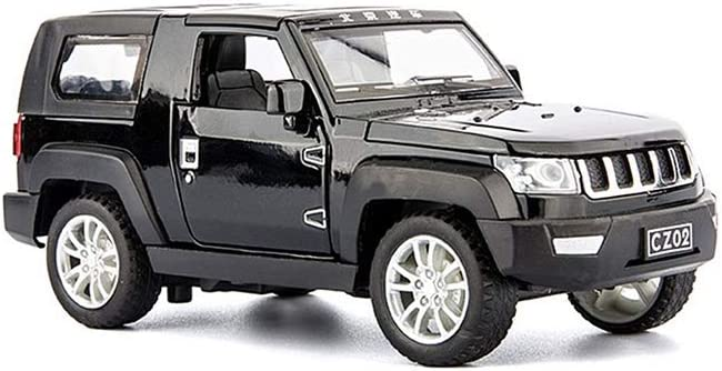 ZDHHD Off-Road 2021 Model Car Alloy Material Can Toy Five O High material Doors