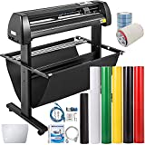 VEVOR Vinyl Cutter 34Inch Vinyl Cutter Machine Manual Vinyl Printer LCD Display...