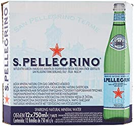 San Pellegrino Sparkling Mineral Water, 750ml (Pack of 12)