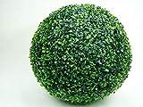 Fire4u - Bola de boj artificial artificial para decoración interior y exterior