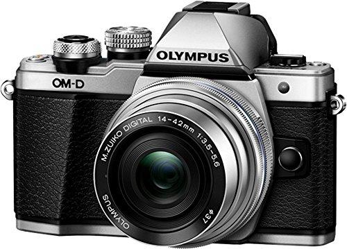 OLYMPUSミラーレス一眼カメラOM-DE-M10MarkIIEZダブルズームキットシルバー