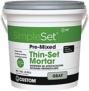 Custom BLDG Products CTTSG1-2 Thin Set Mortar