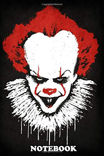 Notebook: The Clown Is Back , Journal for Writing, College Ruled Size 6