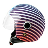 Helmet Dress Funda Casco Jet Moto Flashy