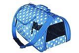BPS (R) Portador Transportín Bolsa Bolso de tela (Lunares) para Perro...